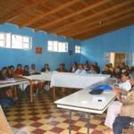 Versammlung im Casa de la mujer