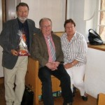 Bodo Lindenlaub (Bürgerbeauftragter der Stadt Eisenach), Heinrich Löwer (Vorsitzender der Stadtverordnetenversammlung Marburg) und Gattin