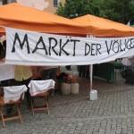 Markt der Völker, ein Stand des Weltladens Eisenach