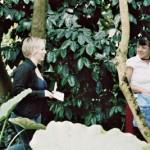 Nadine und Yamileth im Botanischen Garten