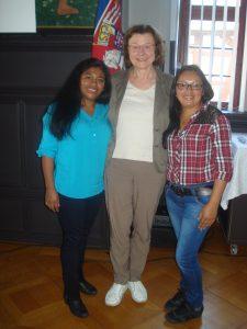 Gladix Hernandez, Christa Winter und Dilcia Vasquez